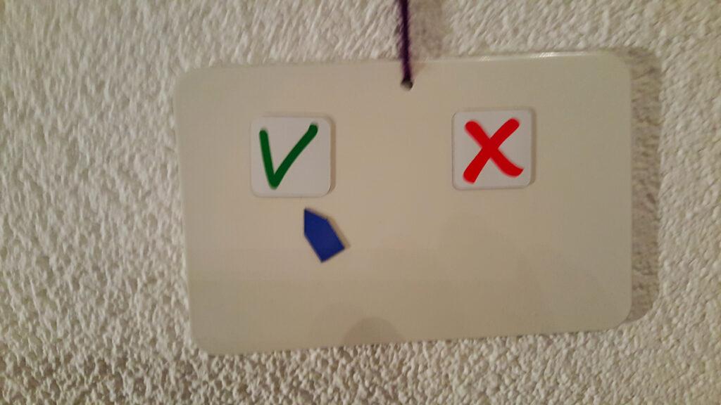 Emotieregulering en overzicht met magneetplaatjes